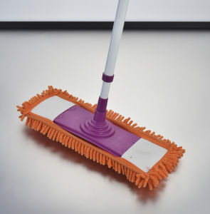 Telescopic Handle Chenille Flat Mop, TPR Mop, Flexible Triangle Mop, Corner Mop (1026) pictures & photos
