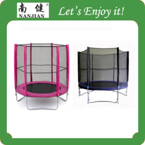 6ft Trampoline with Safety Enclosure pictures & photos