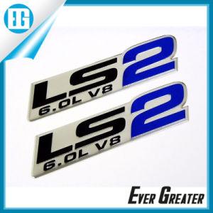 Best Price Custom Adhesive Aluminium Badge Factory Directly pictures & photos