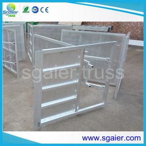 Aluminium Crowd Control Barriers Metal Stage Crowd Control Barriers Fence Road Safety pictures & photos