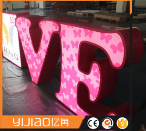 Acrylic LED Luminous Letters for Decoration and Promotion pictures & photos