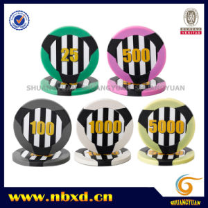 11.5g 2-Tone 3-Stripe ABS Poker Chip pictures & photos