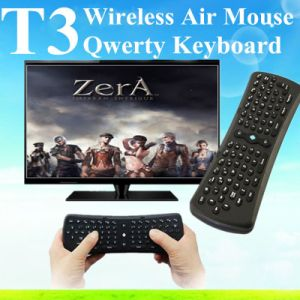 Tablet PC Wireless Keyboard Mouse Mini Fly Air Mouse T3 pictures & photos