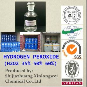 Certified Hydrogen Peroxide H2O2 27.5%-70% pictures & photos