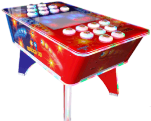 2015 Speed up Hit Peas Game Machine/Redemption Games Play with 2 People pictures & photos