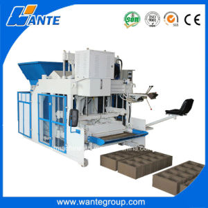 Wt10-15 Automatic Hollow Brick Machine Cement Brick Factory pictures & photos