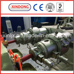 High Speed PP Double Pipe Production Line pictures & photos