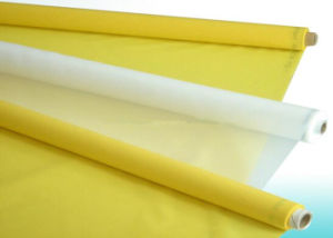 Polyester Silk Screen Printing Mesh / Polyester Mesh Fabric Plain Weave Type