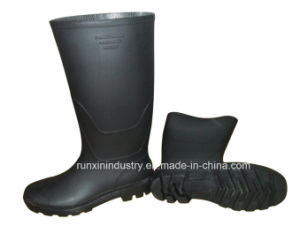 Wellington Type PVC Rain Boots 102bb pictures & photos