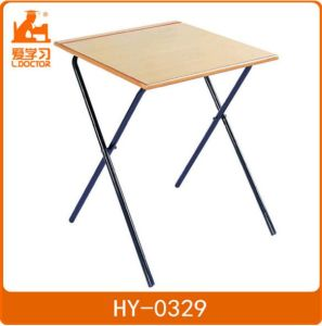Student Wooden Testing Table with Chair of Classroom Furniture pictures & photos