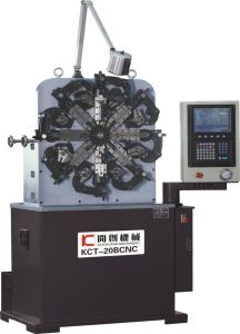 0.2mm CNC Duck Clip Spring Forming Machine&Torsion/Tension Versatil 3 Axis CNC Spring Forming Machine pictures & photos
