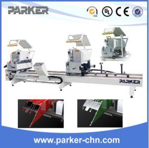 Aluminium Automatic CNC Double Head Cutting Saw Machine pictures & photos