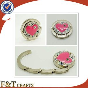 Foldable Bag Hanger with Heart Design pictures & photos