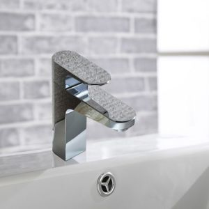 Brass and Brushed Nickel Bathroom Faucet pictures & photos