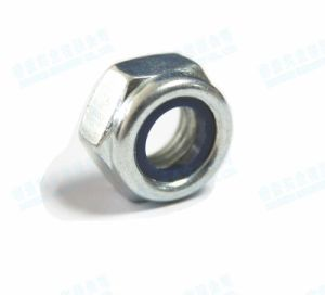 Stainless Steel Hex Nylon Lock Nuts DIN985 pictures & photos