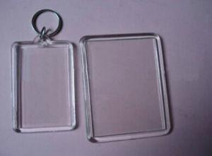 Promotional OEM Transparent Plastic Keychain, pictures & photos