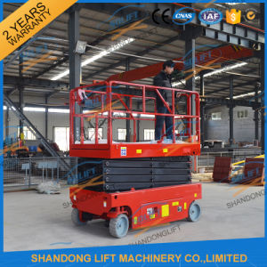6m Self Propelled Hydraulic Mini Electric Scissor Lift Table pictures & photos
