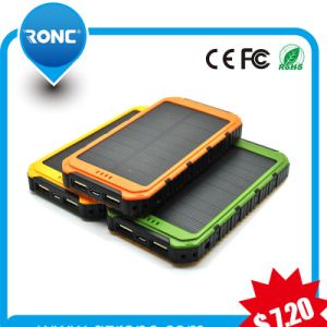 Electronic 4000mAh Battery Charger with Gift Package Solar Power Bank pictures & photos