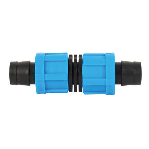 Irrigation Fitting Plastic / PVC Coupling for Drip Tape pictures & photos