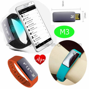 Activity Sport Pedometer Wristband Fitness Tracker Watch Smart Bracelet M3 pictures & photos