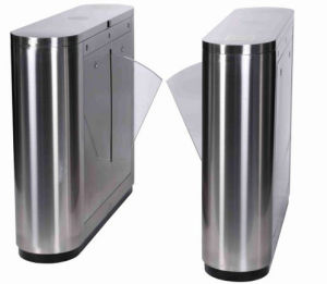 Pedestrian Control Speed Anti-Pinch Double Motor Flap Barriers Turnstile pictures & photos