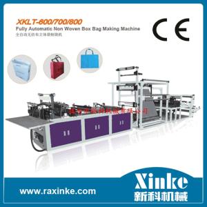 Automatic Multifunction Non Woven Box Bag Making Machine (XKLT-700)