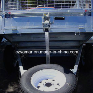8FT. X5FT. Dump Trailer with Winch for Australia Market pictures & photos
