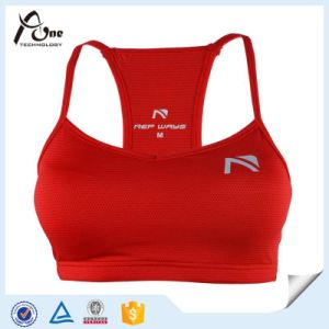 OEM Manufacturers Youth Fitness Lace Mesh Padded Sport Bra