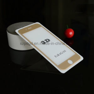 3D 9h Curved Edge Tempered Glass Screen Protection for iPhone 6 / 6s Plus (+PC Plate) pictures & photos