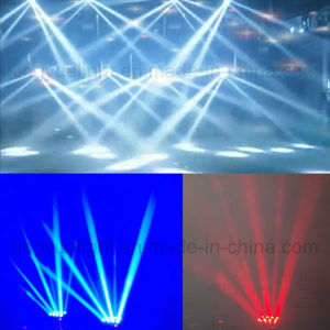 Hot 8X10W RGBW 4in1 LED Dicso DJ Beam Moving Head Effect Light pictures & photos
