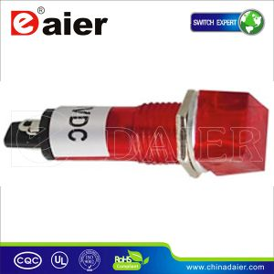 Red 10mm Pilot Light Lamp 220V, LED Indicator (XD10-4) pictures & photos