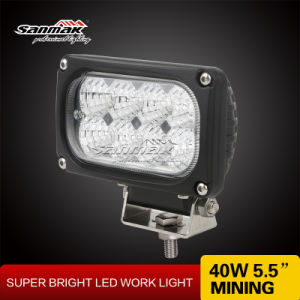 """40W 5.5"""" IP68 LED Work Light for Heavy Duty pictures & photos"""