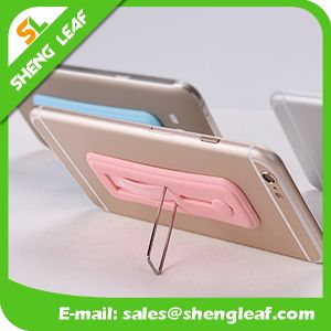Promotional Silicone Colorful Gifts Mobile Phone Stand Holder (SLF-SH004) pictures & photos