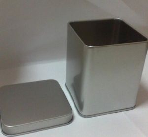 Square Gift Tin Can for Candle Jar Gift Tin Jar pictures & photos