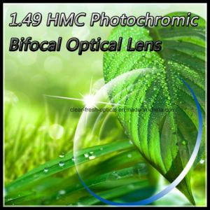 1.49 Hmc Photochromic Bifocal Optical Lens