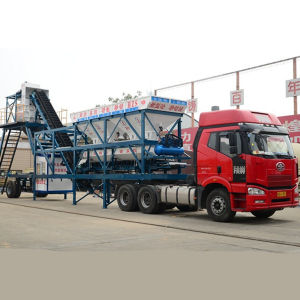 CE Certificate Yhzs35 Movable Concrete Plant Price pictures & photos
