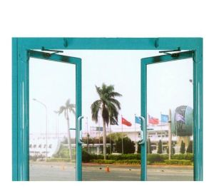 Push & Open Function Automatic Gate Swing Door pictures & photos