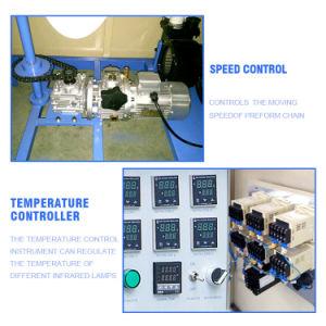 1000bph Semi Automatic Pet Stretch Blow Moulding Machine pictures & photos