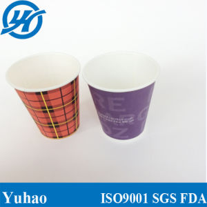 Hot Drink White Cup - 4oz Recyclable Paper White Cup pictures & photos