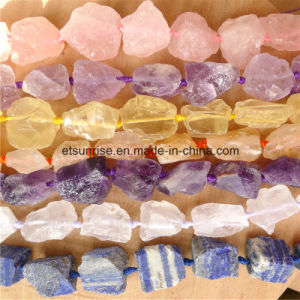 Semi Precious Stone Fashion Crystal Rough Gemstone Bead Jewelry (ESB01710) pictures & photos