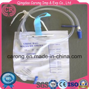 Disposable Medical Urine Drainage Leg Bag 500/750/1000ml pictures & photos