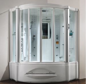 1.52 Meters White Acrylic Indoor Steam Shower Room (M-8208) pictures & photos