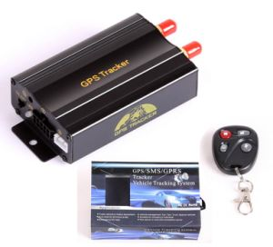 Avl GPS Tracking System with Engine-Stop, Door & Ignition Alerts pictures & photos