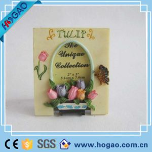 Resin Photo Frame Beautiful Flowers and Butterfly pictures & photos
