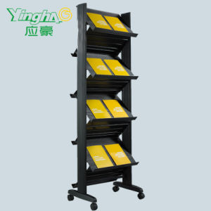 PVC Magazine Display Shelf