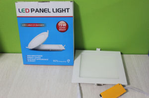 Made-in-China 15W Ultra Thin LED Panel Price LED Ceiling Light pictures & photos