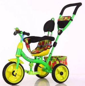 Cheap Baby Tricycle Trike Children Tricycle with Push Bar pictures & photos