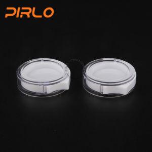 2g Mini Unique Design Portable Plastic Cosmetic Jar with Lid Plastic Rotatable Jar pictures & photos