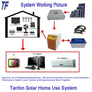 Solar Power System / Home System / off Grid Sun Power DC AC Solar Panel 5kwp Storages pictures & photos
