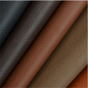 Sofa Leather Fabric with 1.0mm Thickness Hw-648 pictures & photos